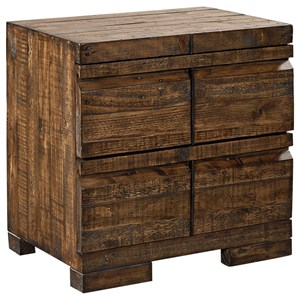 Aspenhome Dimensions 2 Drawer Nightstand