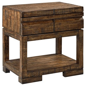 Morris Home Furnishings Dimensions 1 Drawer Nightstand