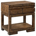 Aspenhome Dimensions 1 Drawer Nightstand  - Item Number: I52-451-RUM