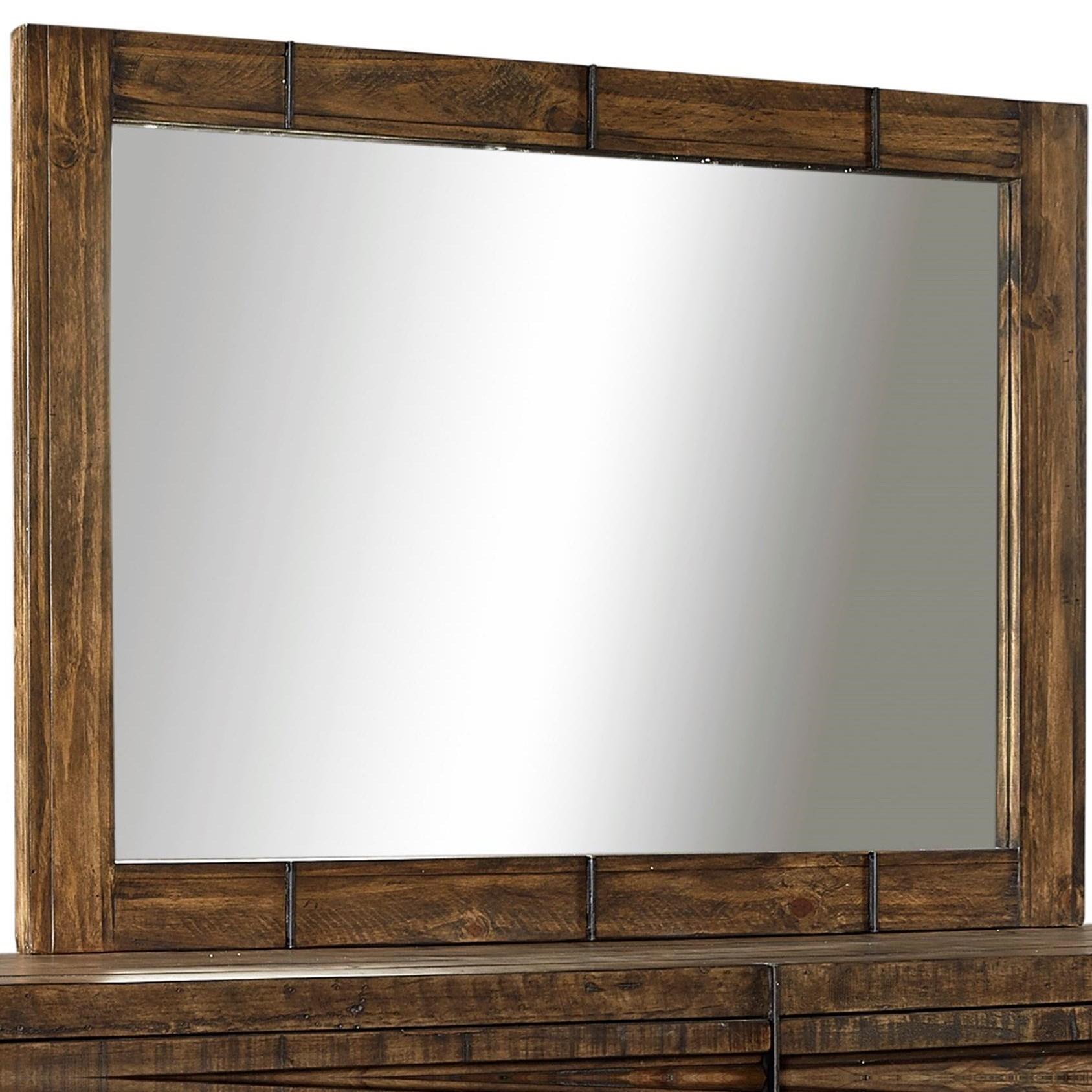 Aspenhome Dimensions Mirror  - Item Number: I52-462-RUM