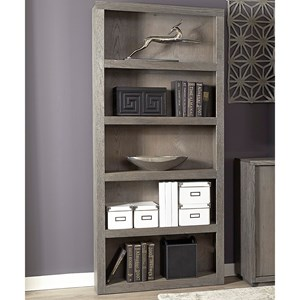 "Aspenhome District 74"" Open Bookcase"