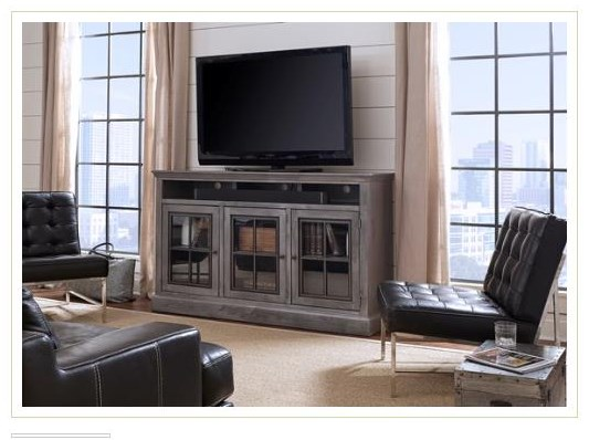 """DR1243 66"""" Highboy Console by Aspenhome at Stoney Creek Furniture"""