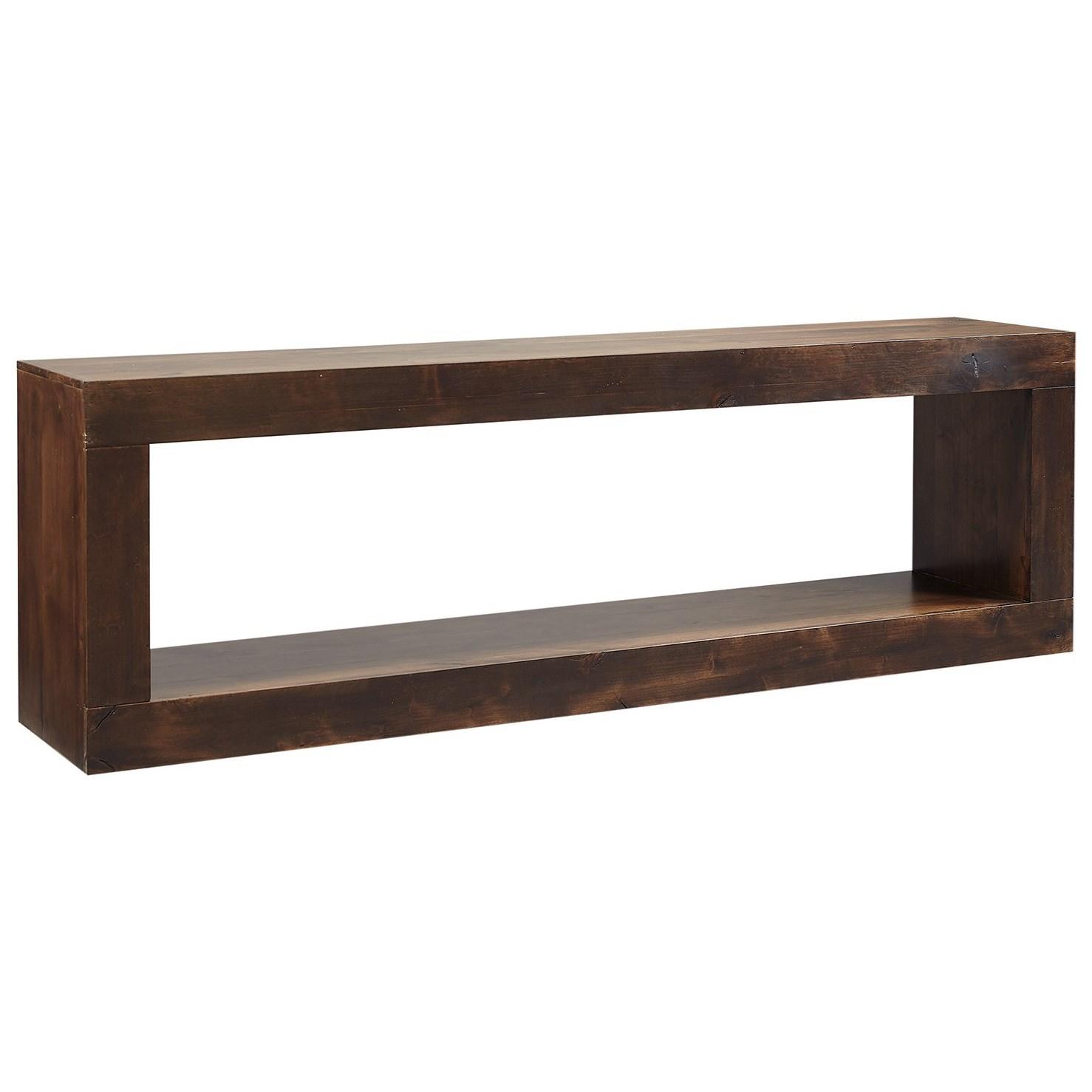 Nova Alder Open Console TV Stand by Aspenhome at Walker's Furniture