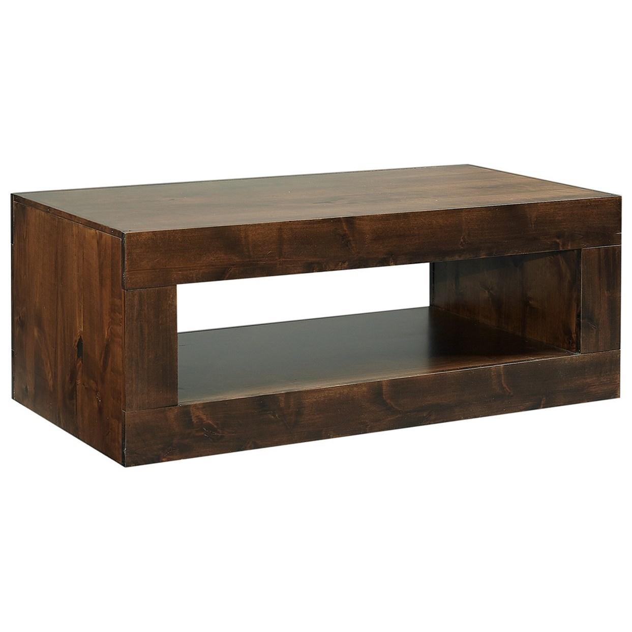Nova Alder Cocktail Table by Aspenhome at Walker's Furniture
