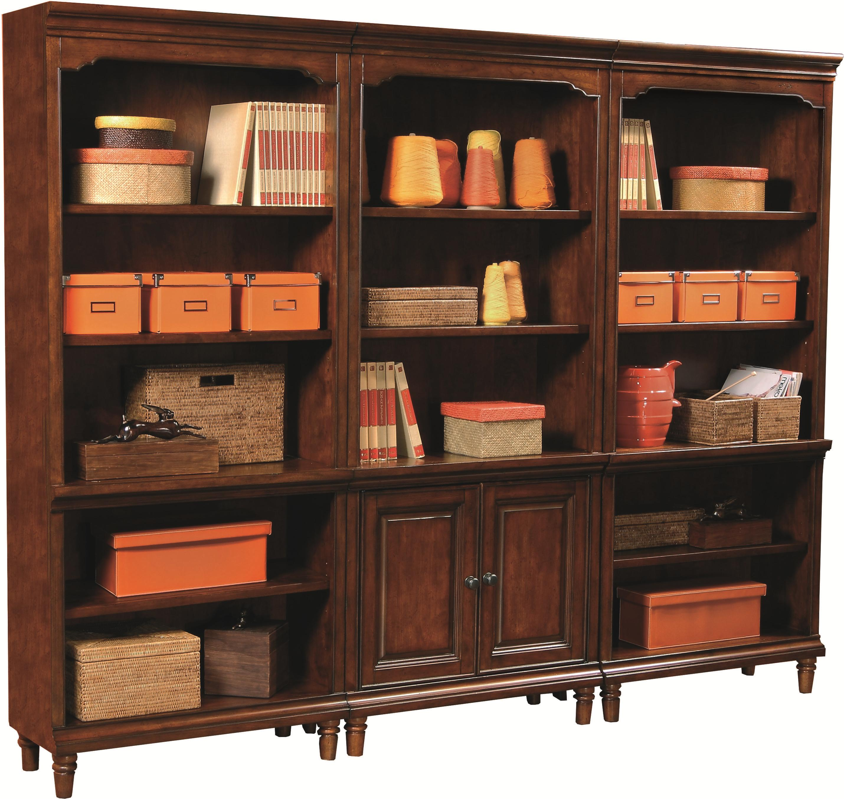 Aspenhome Villager 3 Bookcase Set - Item Number: I20-332-CHY+2x333