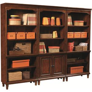 Highland Court Ironton 3 Bookcase Set