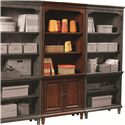 Aspenhome Villager Door Bookcase with 2 Doors and 3 Adjustable Shelves