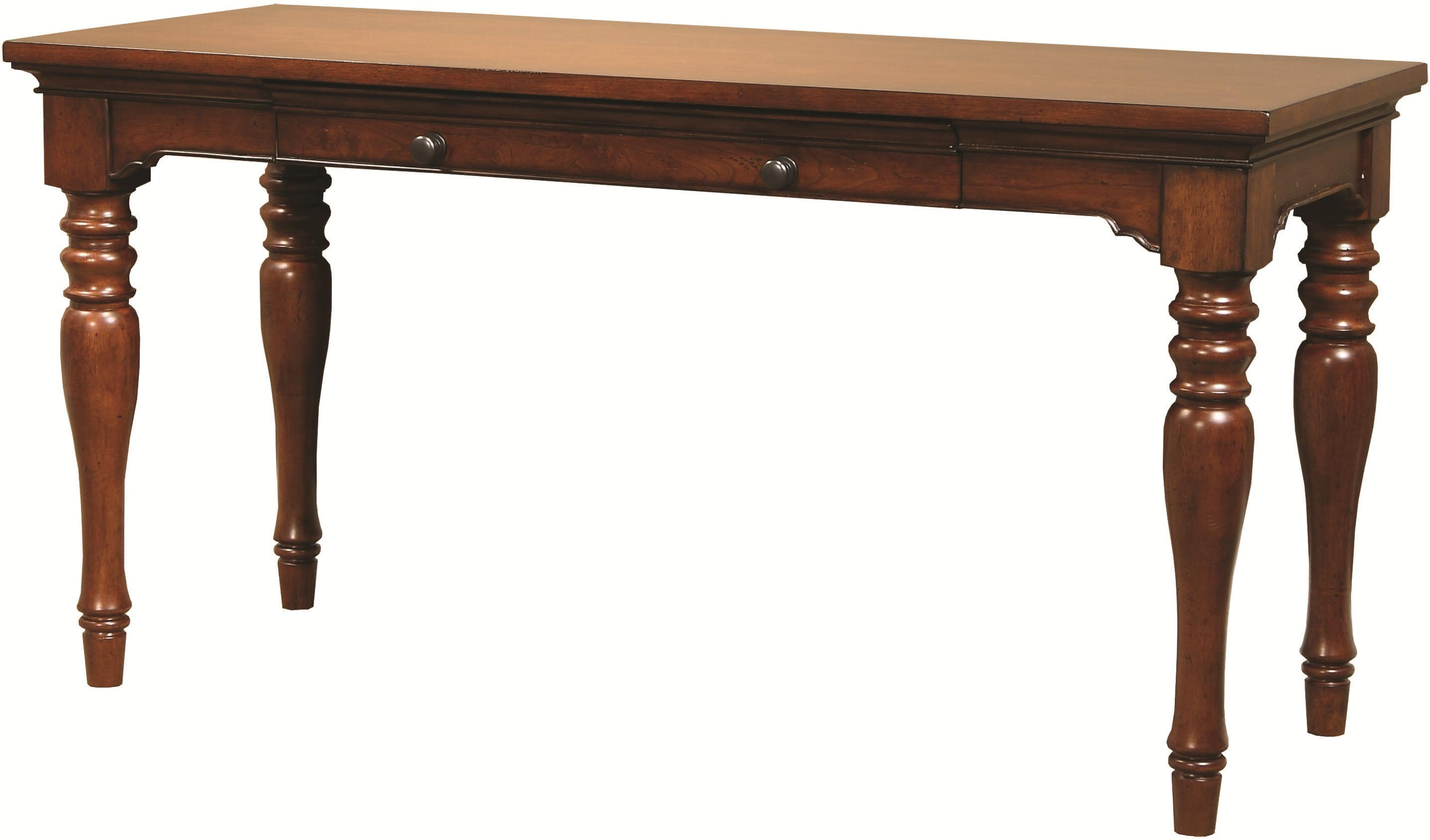 "Morris Home Furnishings Ironton Ironton 60"" Writing Desk - Item Number: I20-360WD-CHY"