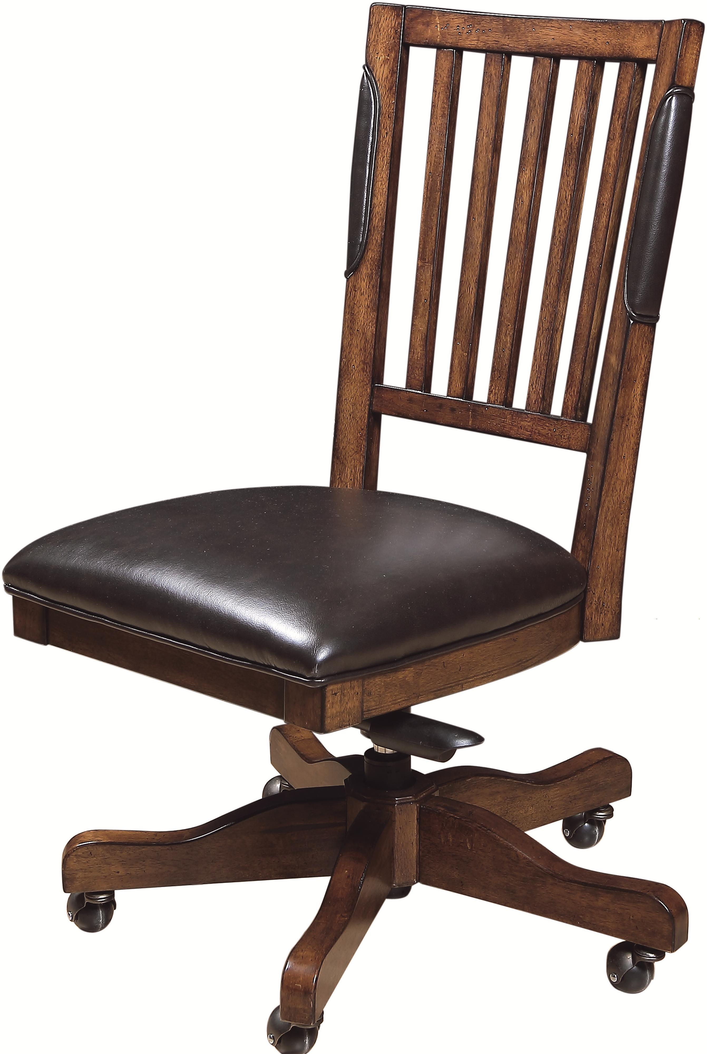 Morris Home Furnishings Ironton Ironton Desk Chair - Item Number: I20-366-CHY