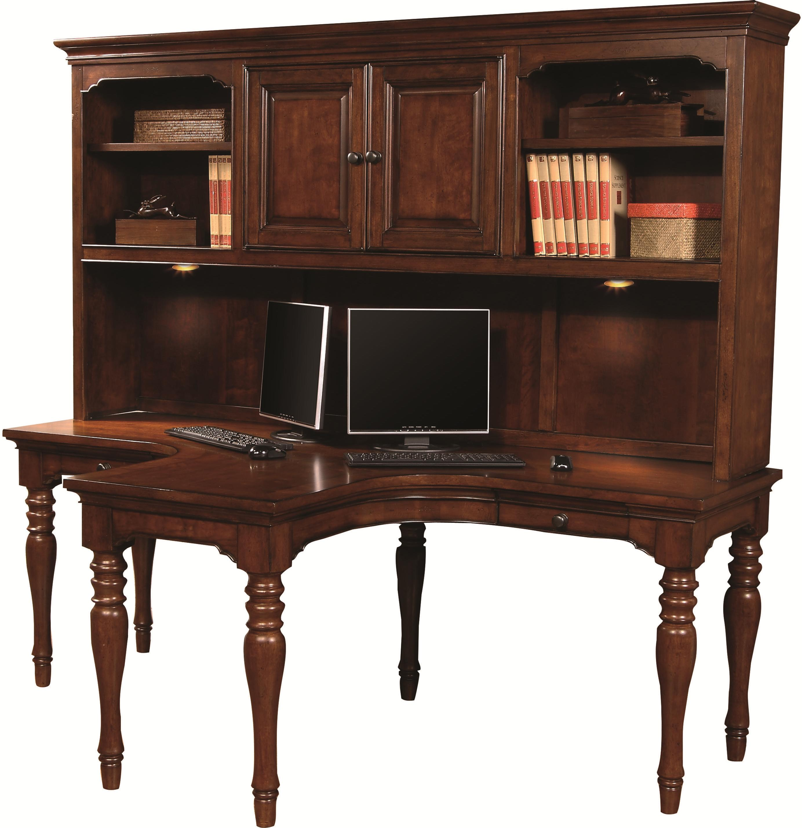 Aspenhome Villager Desk and Hutch - Item Number: I20-380-CHY+380H