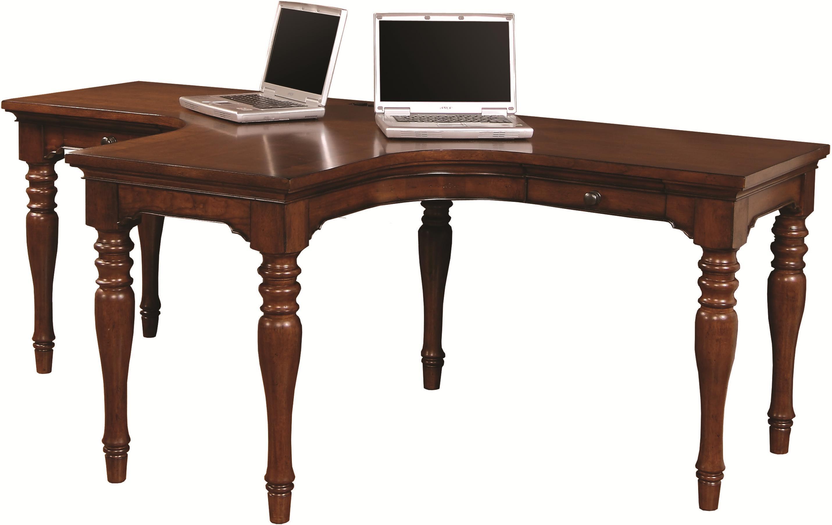 Aspenhome Villager Dual T Desk  - Item Number: I20-380-CHY