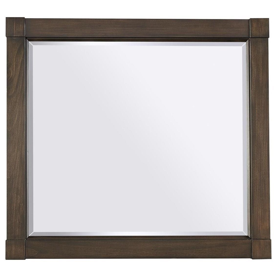 Easton Landscape Mirror  by Aspenhome at Darvin Furniture