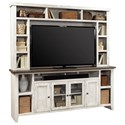 "Aspenhome Eastport 84"" Console and Hutch - Item Number: WME1036+1036H-DWT"