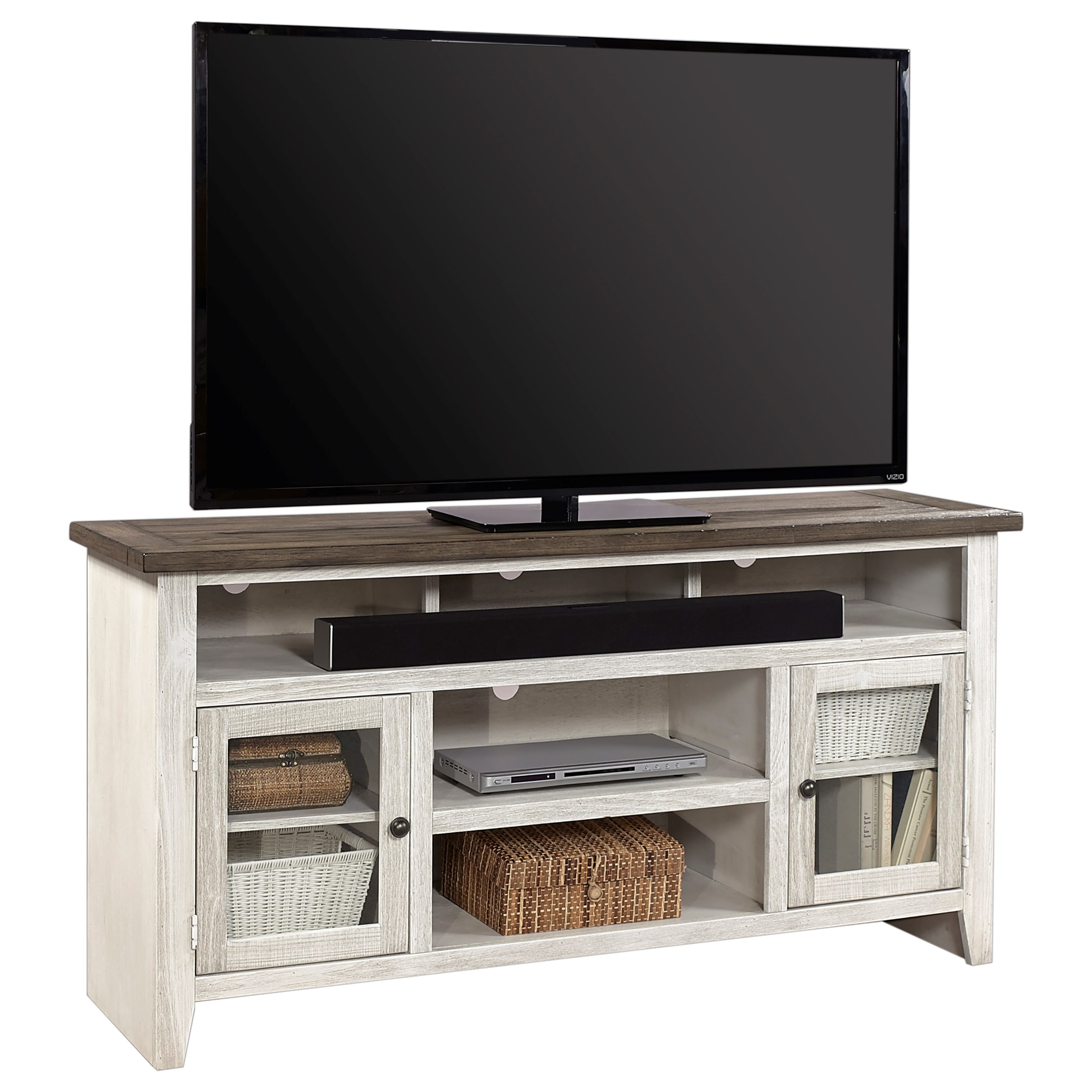 "Eastport 65"" Console by Aspenhome at Stoney Creek Furniture"