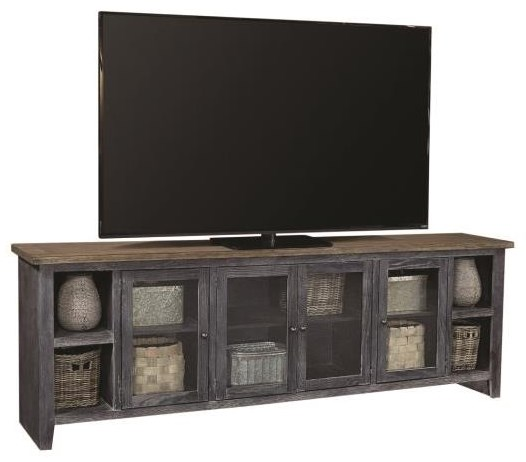 """Eastport 97"""" TV Console by Aspenhome at Darvin Furniture"""