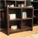 """Aspenhome Essentials Lifestyle 38"""" Cube Bookcase - Item Number: 403808299"""