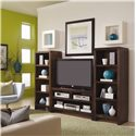 Morris Home Furnishings Essentials Lifestyle 49 Inch Console - Shown with Piers.