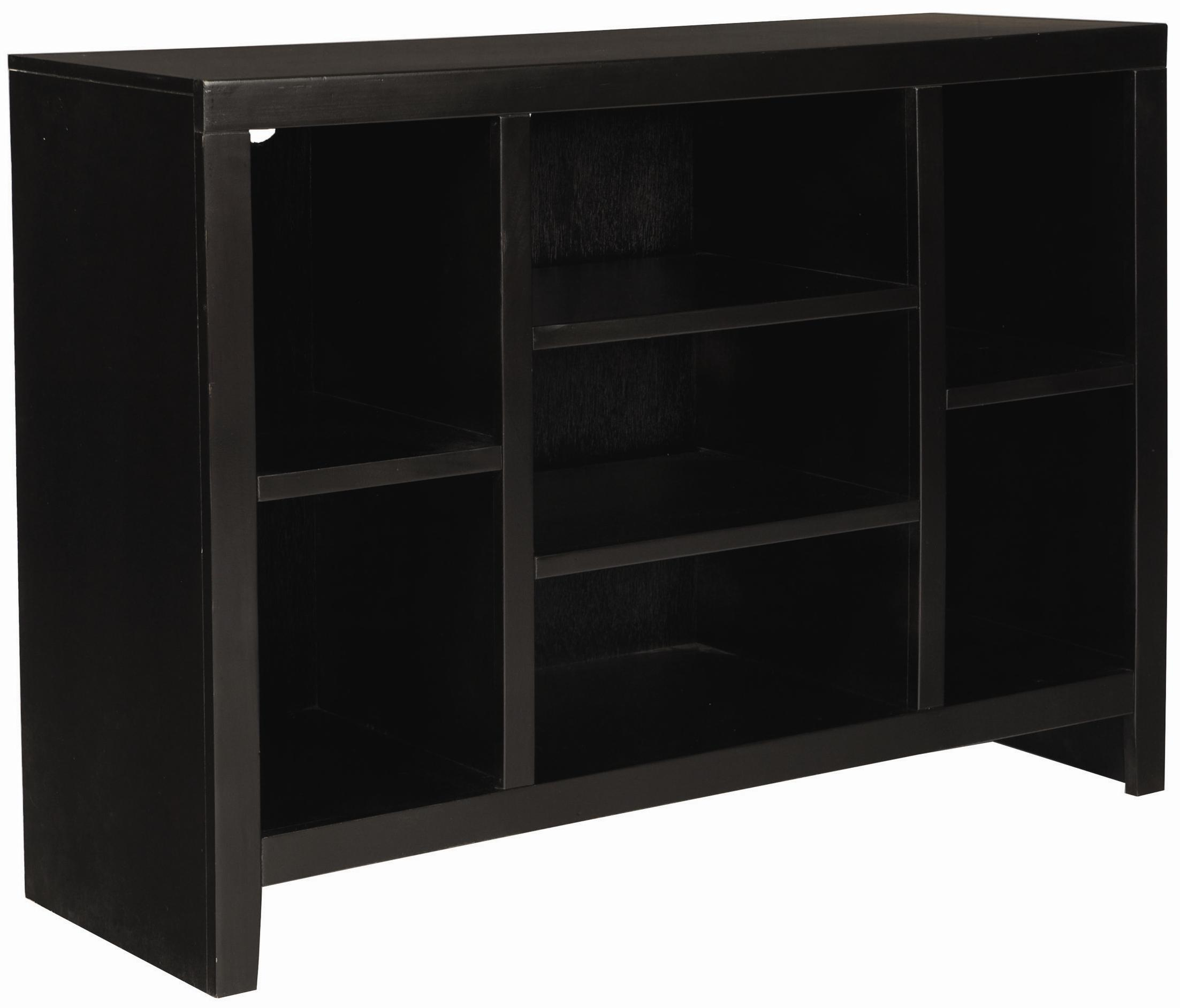 Aspenhome Essentials Lifestyle 49 Inch Open TV Console - Item Number: CL1024-BLK