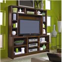 Aspenhome Essentials Lifestyle 73 Inch Console & Hutch Wall Unit - CL1027-CHY+CL1027H-CHY