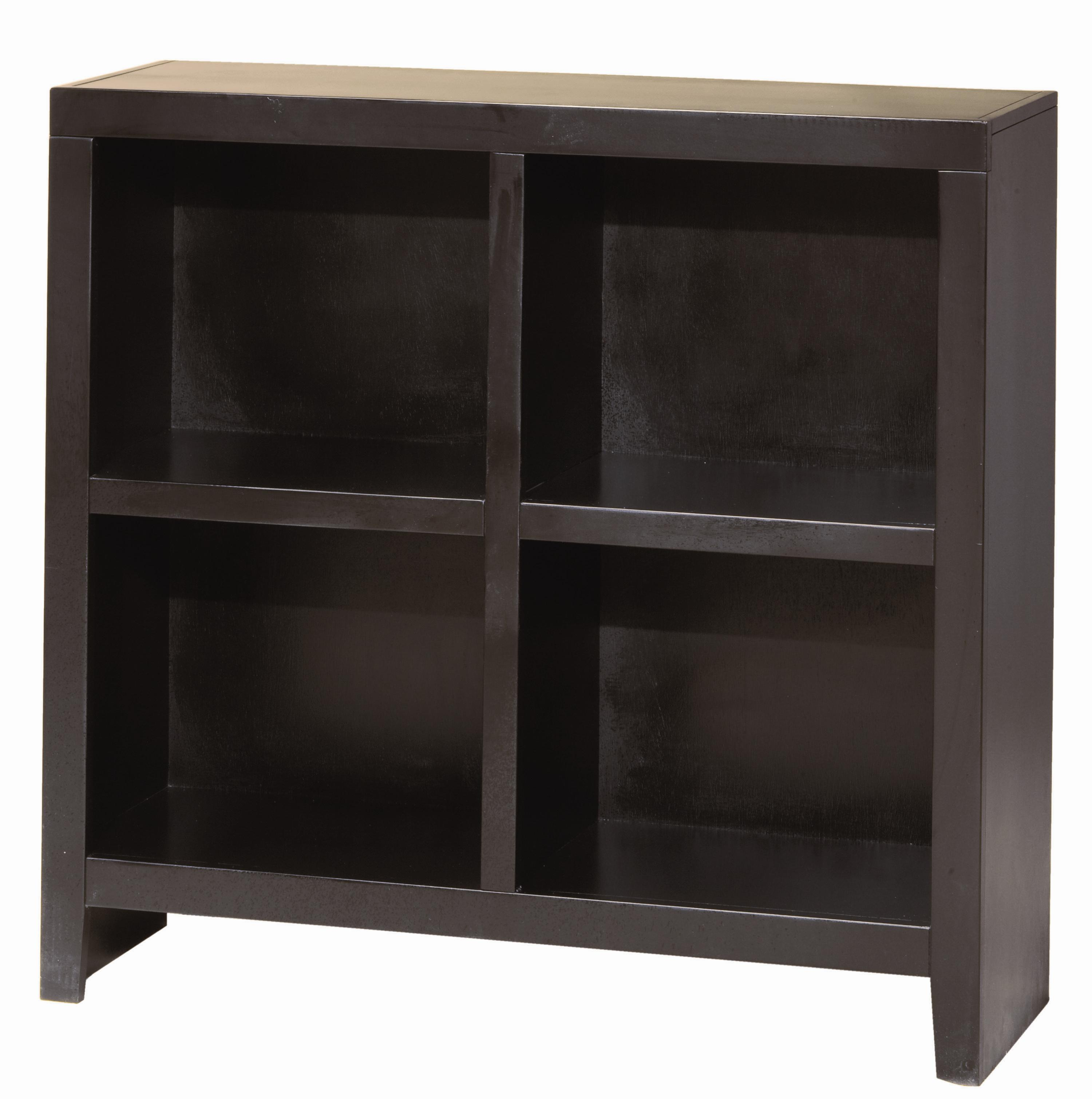 Aspenhome Essentials Lifestyle 38 Inch Cube Bookcase - Item Number: CL4038-BLK