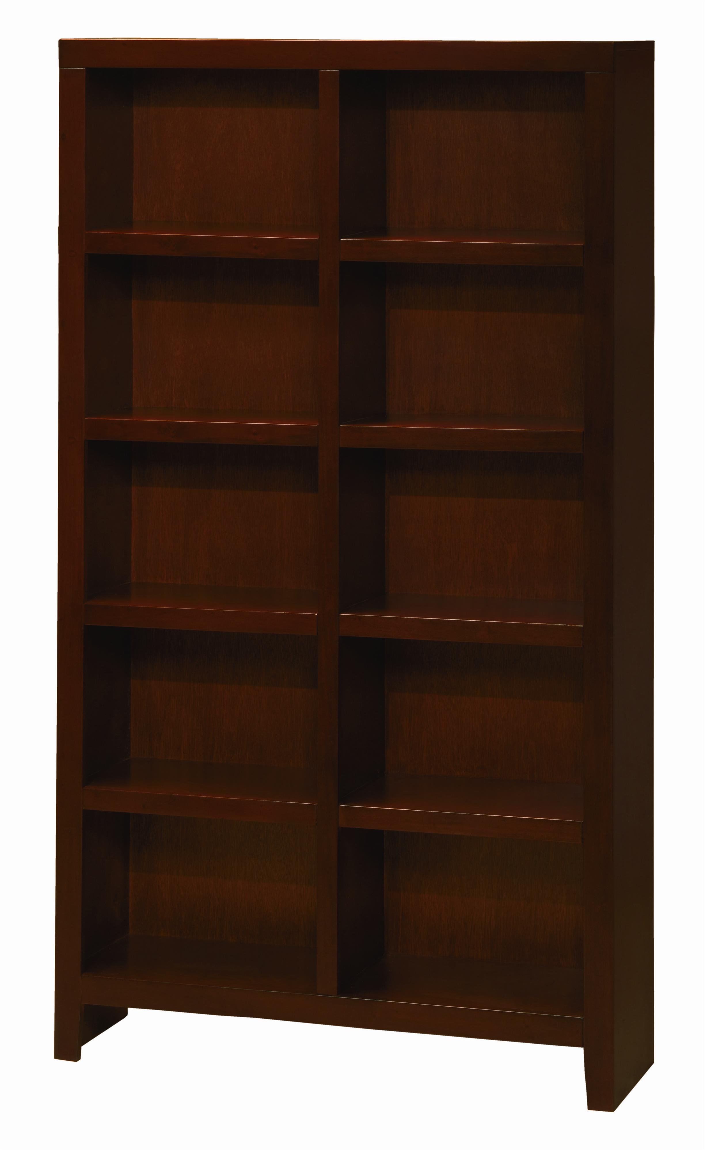 Aspenhome Essentials Lifestyle 77 Inch Cube Bookcase - Item Number: CL4077-CHY