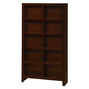 Morris Home Furnishings Essentials Lifestyle 77 Inch Cube Bookcase
