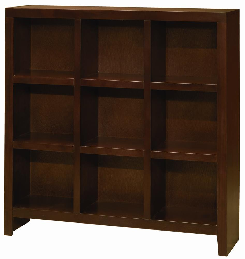 Aspenhome Essentials Lifestyle 49 By 49 Inch Cube Bookcase - Item Number: CL4949-CHY