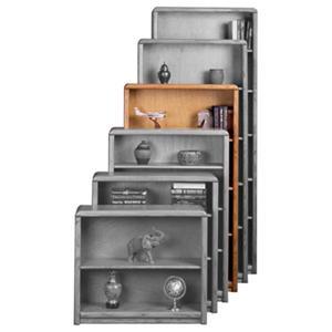 Aspenhome Essentials Contemporary 60-Inch Standard Bookcase