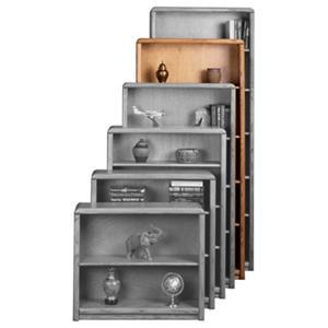 Aspenhome Essentials Contemporary 74-Inch Standard Bookcase