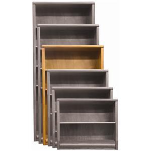 Aspenhome Essentials Transitional 60 Inch Standard Bookcase