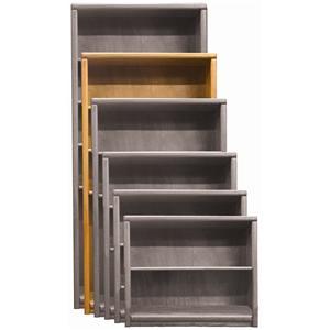 Aspenhome Essentials Transitional 74 Inch Standard Bookcase
