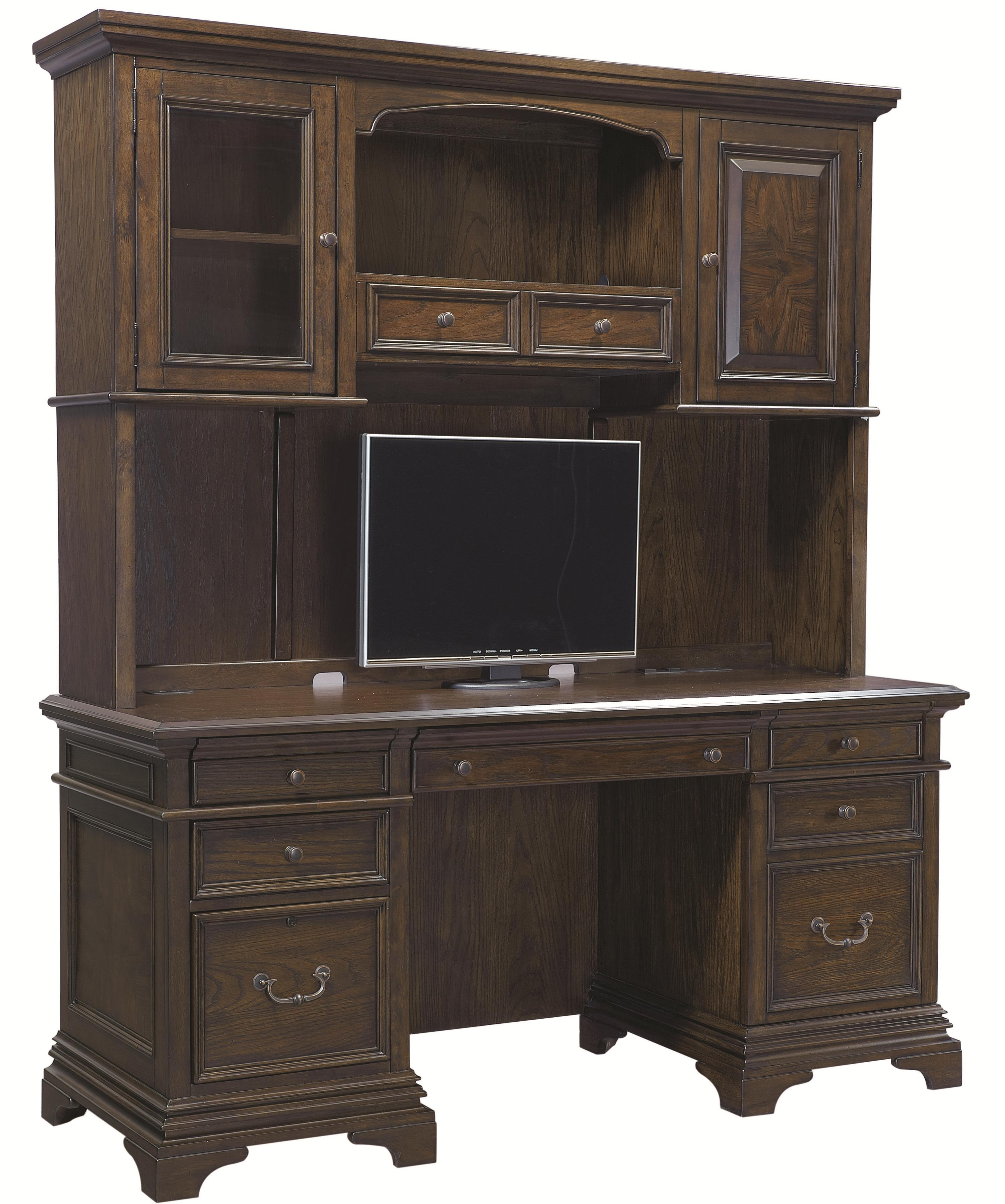 Aspenhome Essex Credenza and Hutch - Item Number: I24-316+7