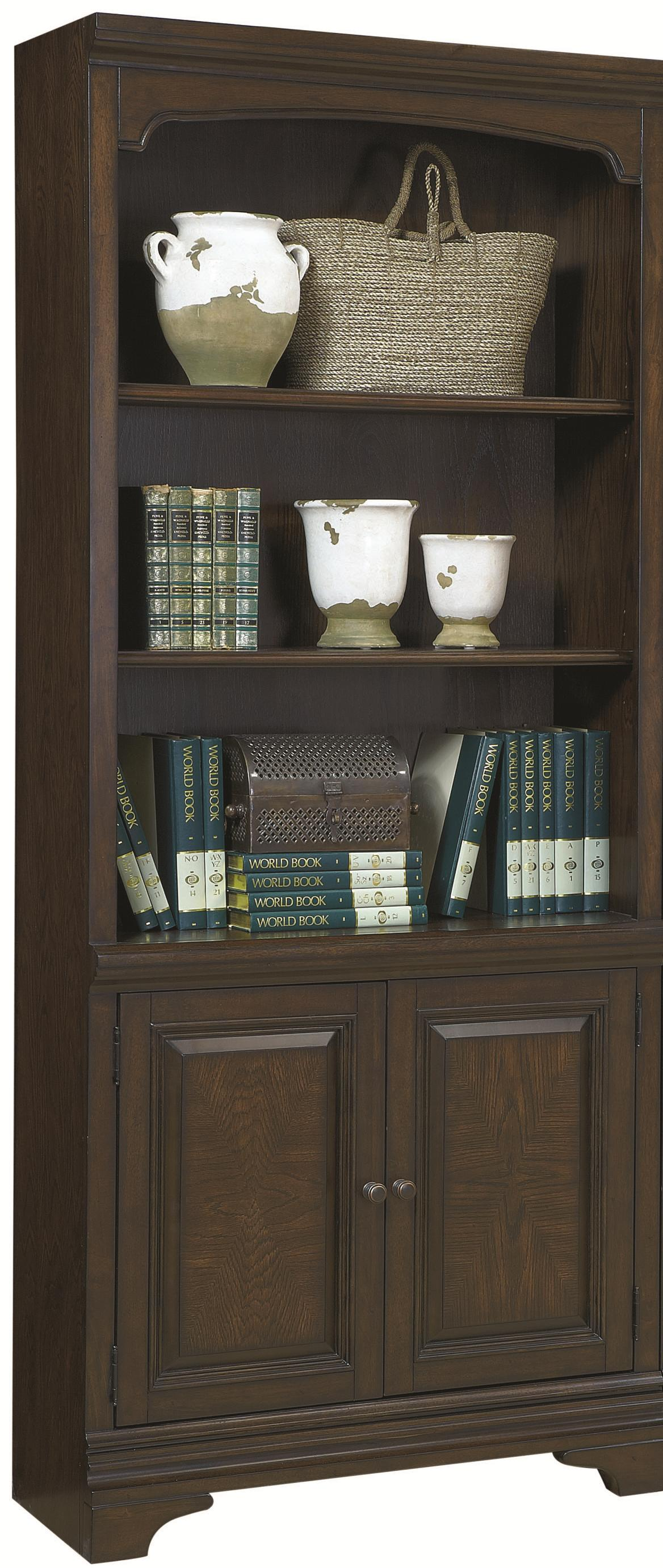 Highland Court Addams Addams 2 Door Bookcase - Item Number: I24-332