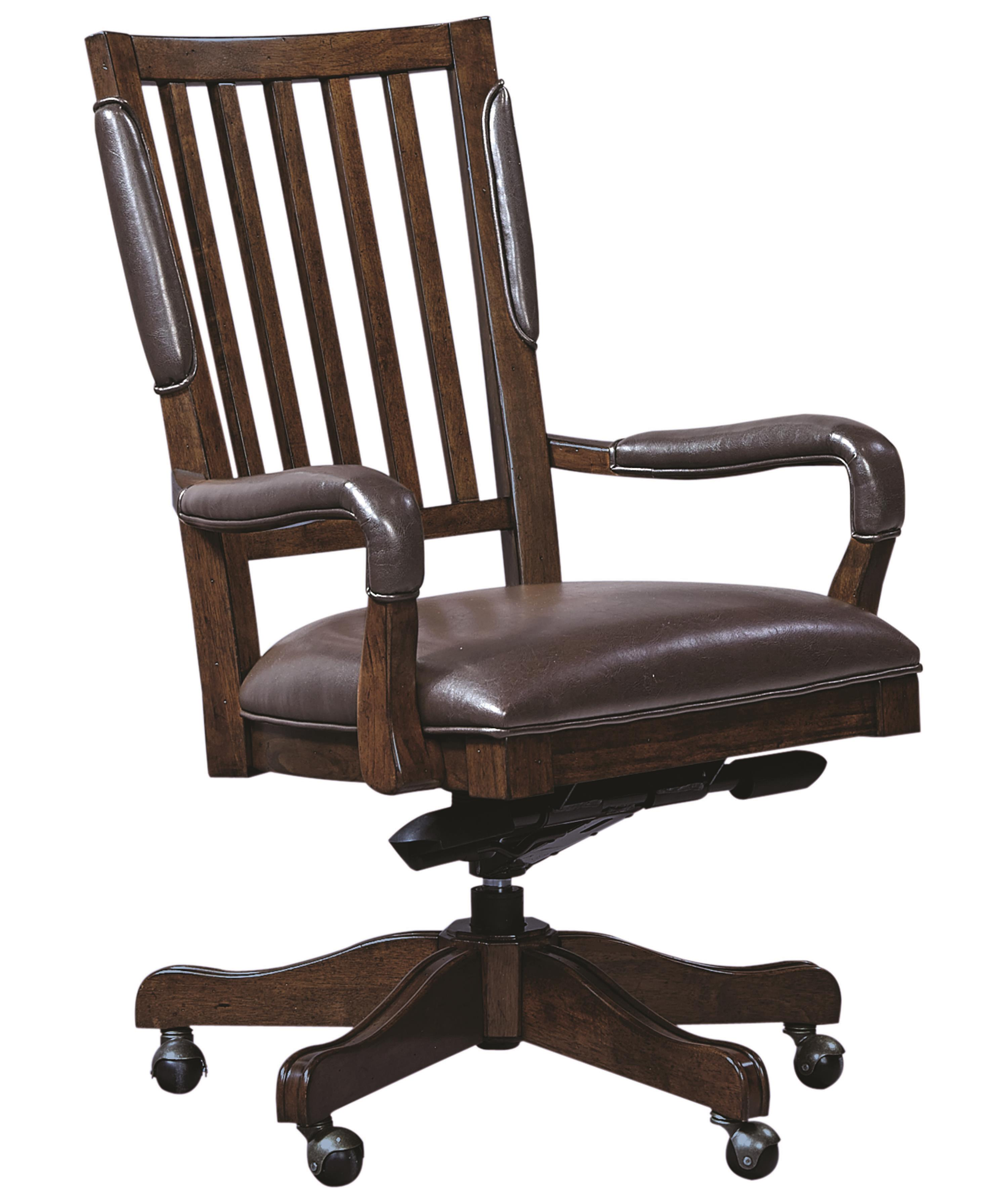 Aspenhome Essex Office Arm Chair - Item Number: I24-366A