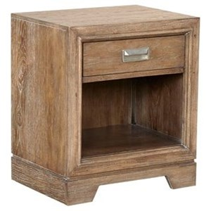 Aspenhome Front Street 1 Drawer Nightstand