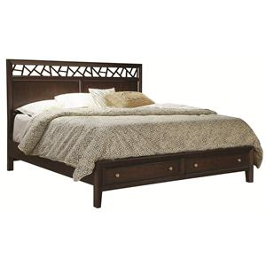 Aspenhome Genesis King Storage Panel Bed