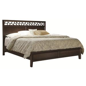 Morris Home Furnishings Greenbrier Greenbrier Queen Panel Bed
