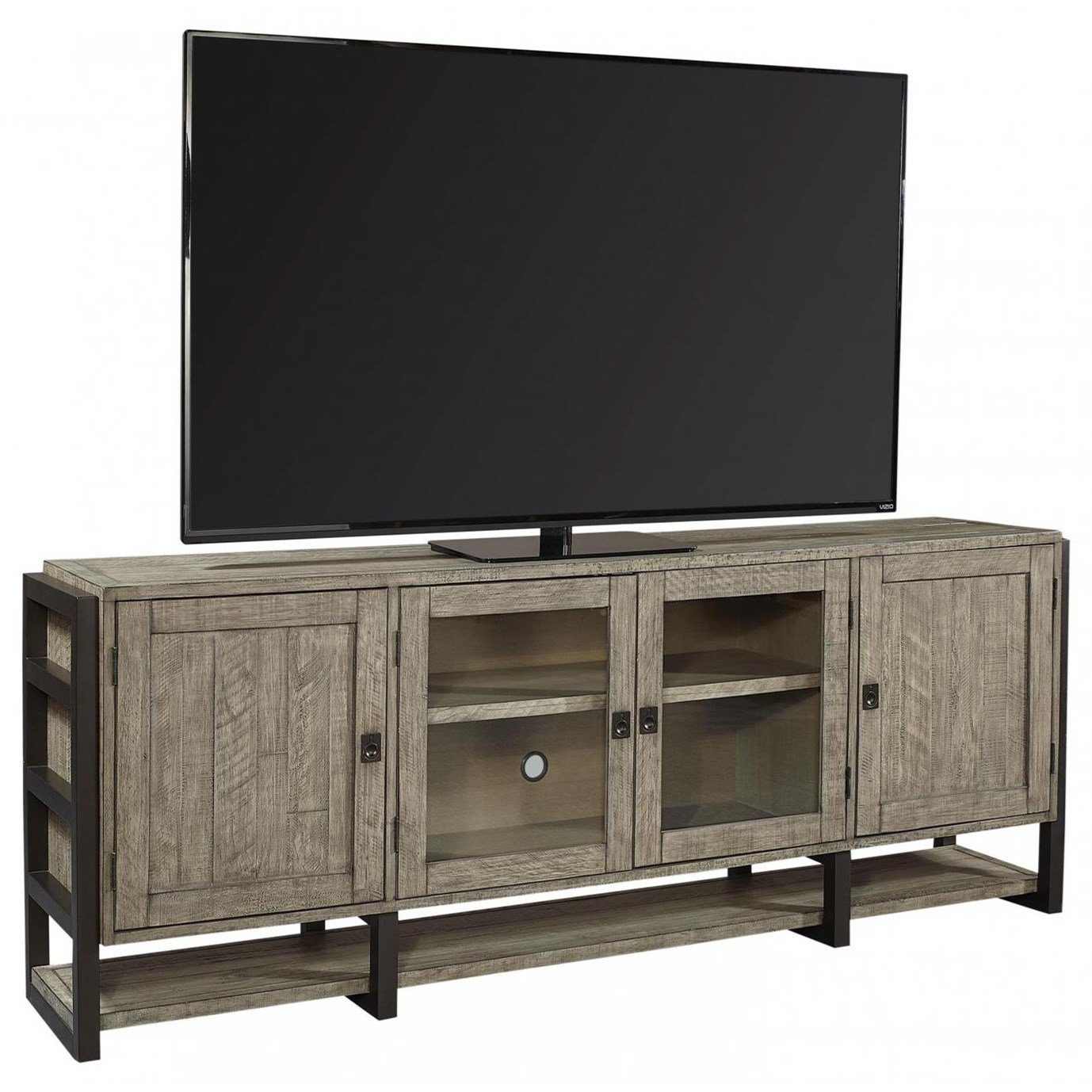 """Grayson 85"""" Console by Aspenhome at Walker's Furniture"""