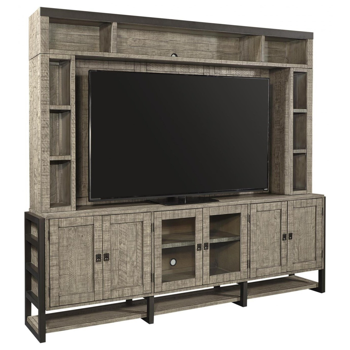 Grayson TV Stand with Hutch by Aspenhome at Walker's Furniture
