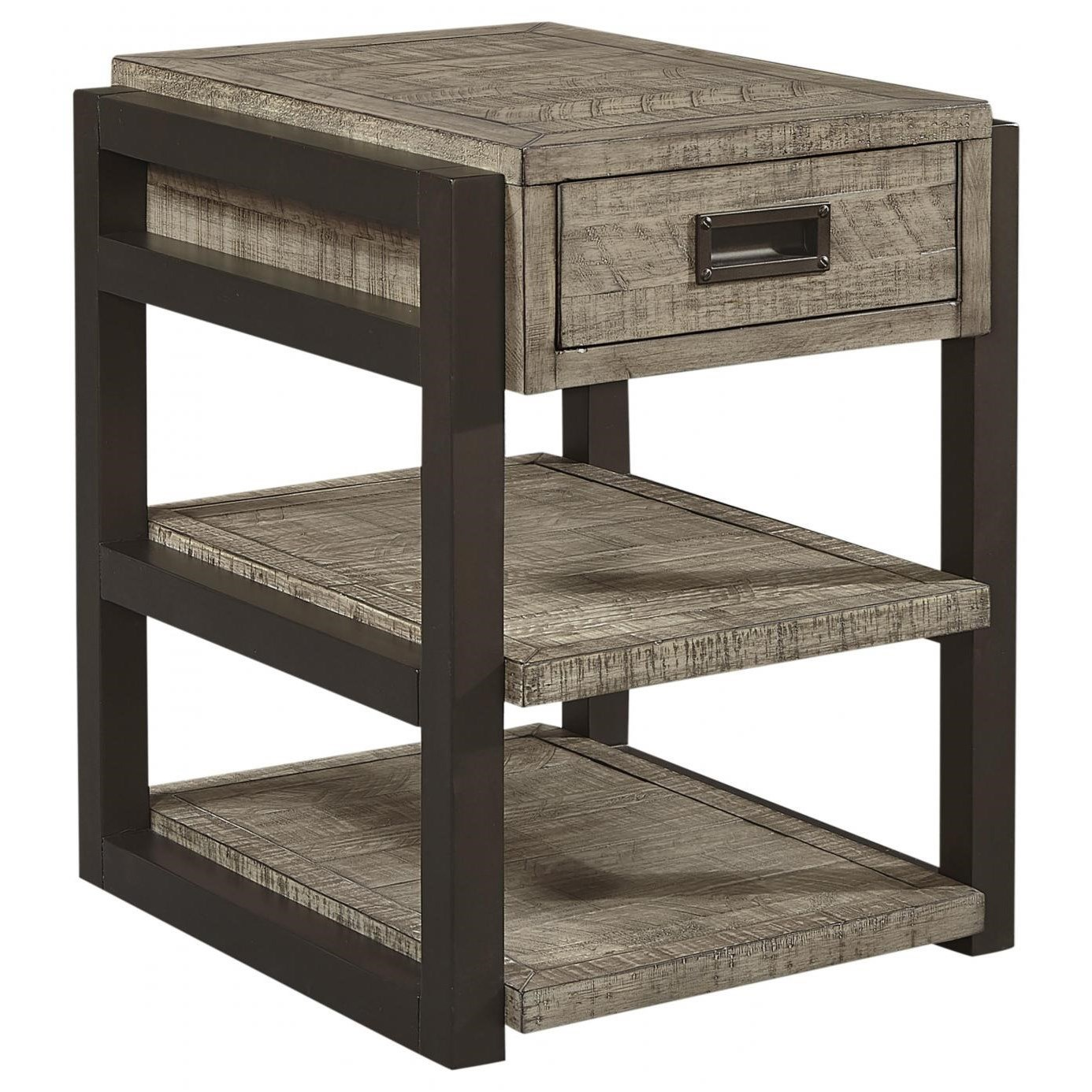 Grayson Chairside Table by Aspenhome at Walker's Furniture