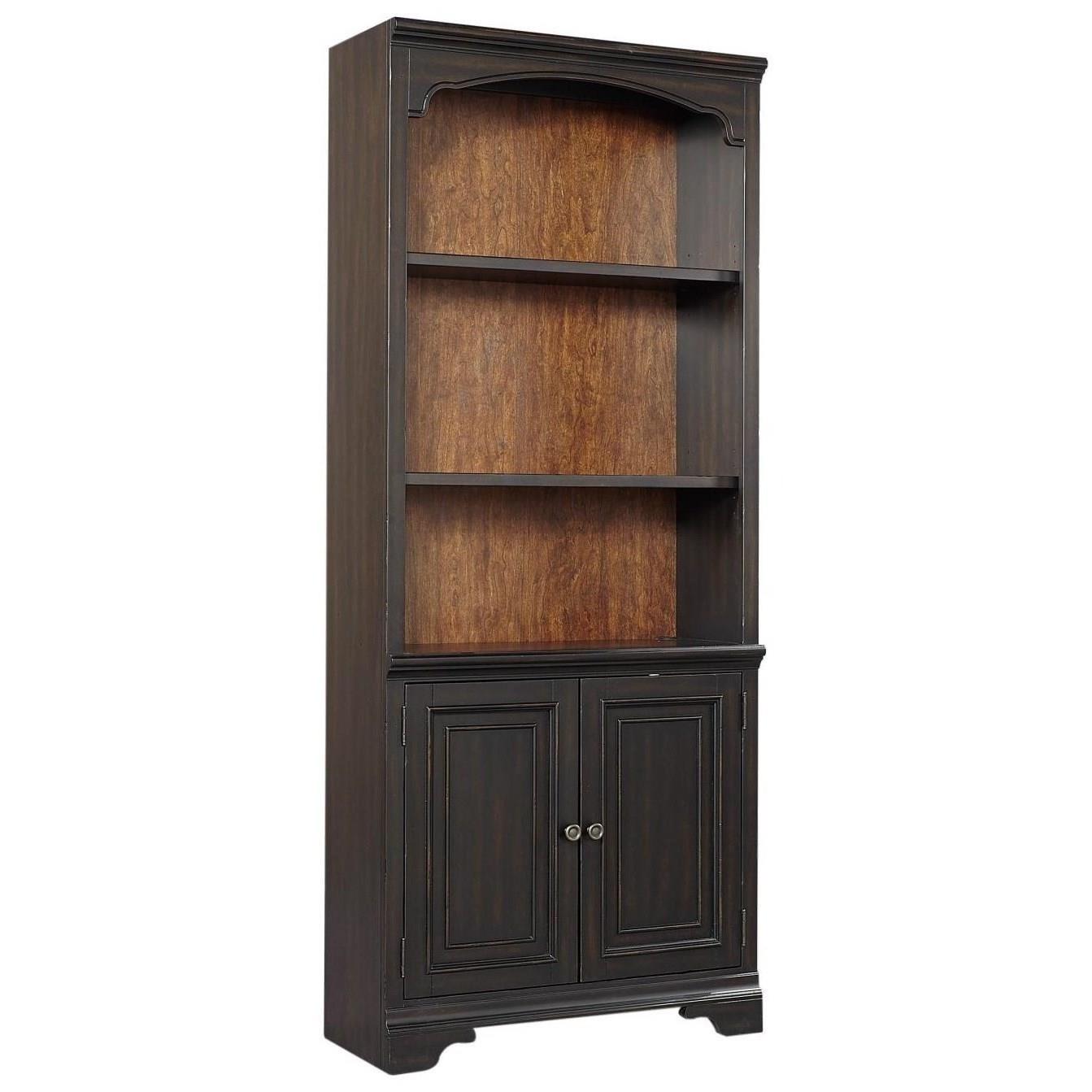 Hampton Door Bookcase  by Aspenhome at Walker's Furniture
