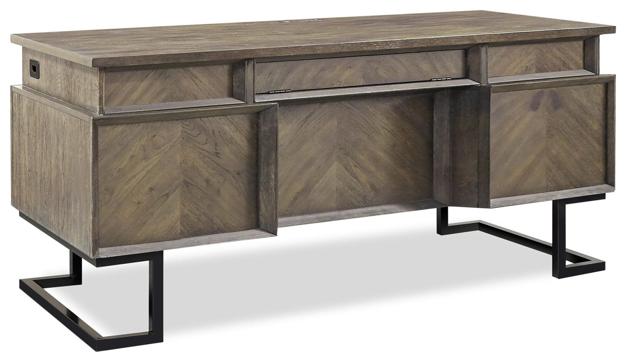 Harper Point Desk  by Aspenhome at Red Knot