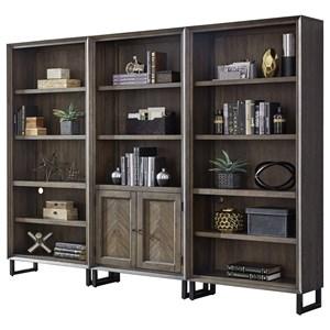 Aspenhome Harper Point Bookcase Set