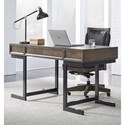 Aspenhome Harper Point Contemporary Desk - Item Number: IHP-360WD-FSL