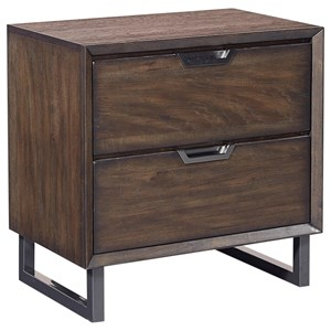 Morris Home Furnishings Harper Point 2 Drawer Nightstand