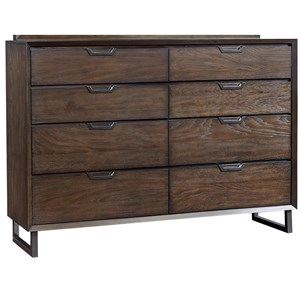 Highland Court Harper Point Hartford 8 Drawer Chesser