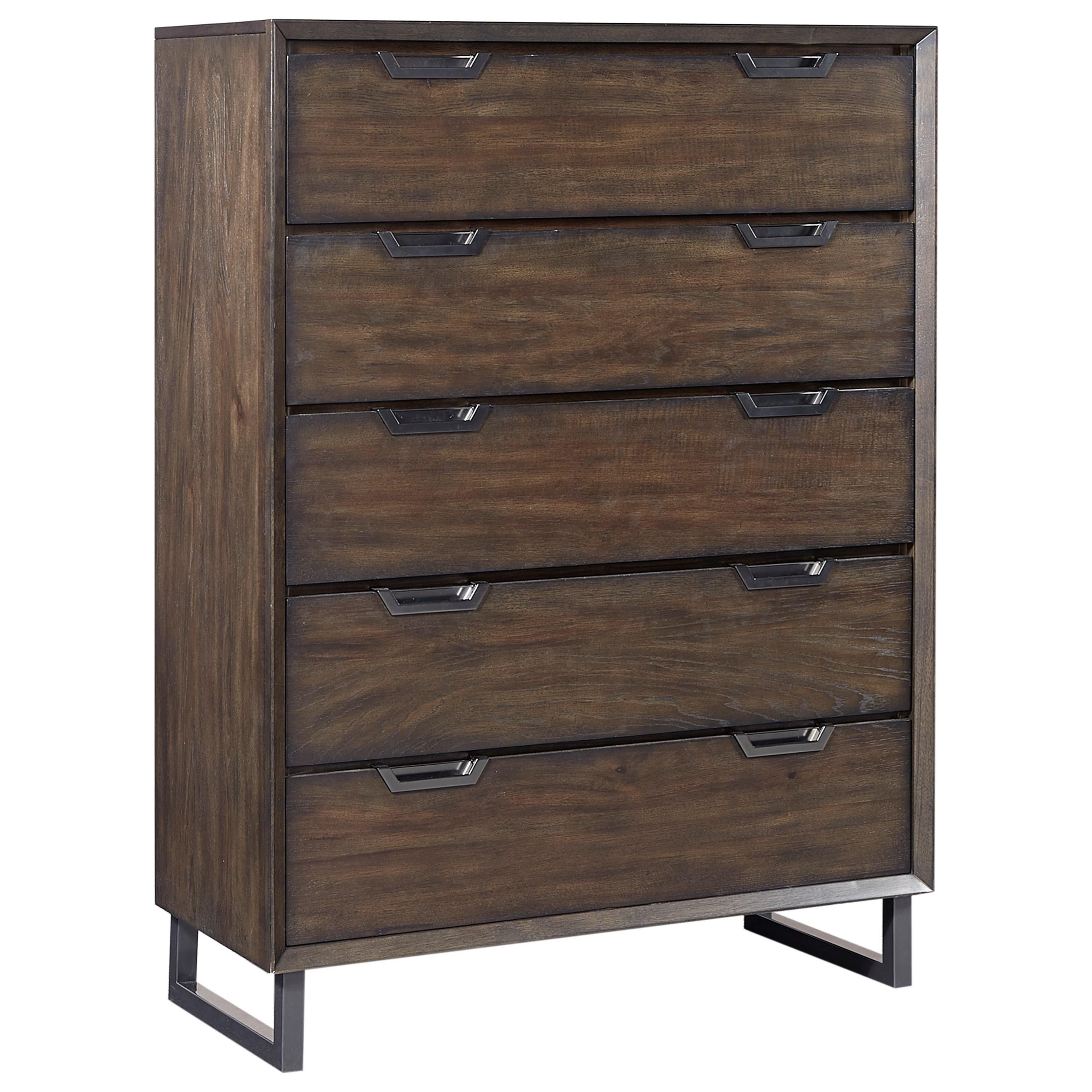 Aspenhome Harper Point 5 Drawer Chest  - Item Number: IHP-456