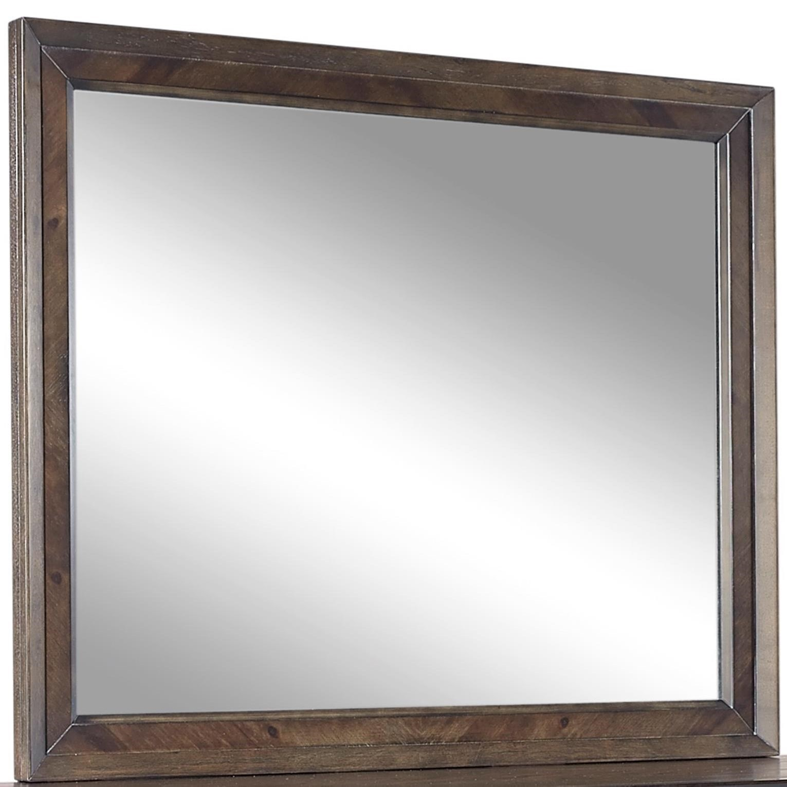 Aspenhome Harper Point Landscape Mirror  - Item Number: IHP-462