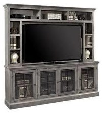 "Hillsted Hillstead 84"" Entertainment Center by Aspenhome at Morris Home"