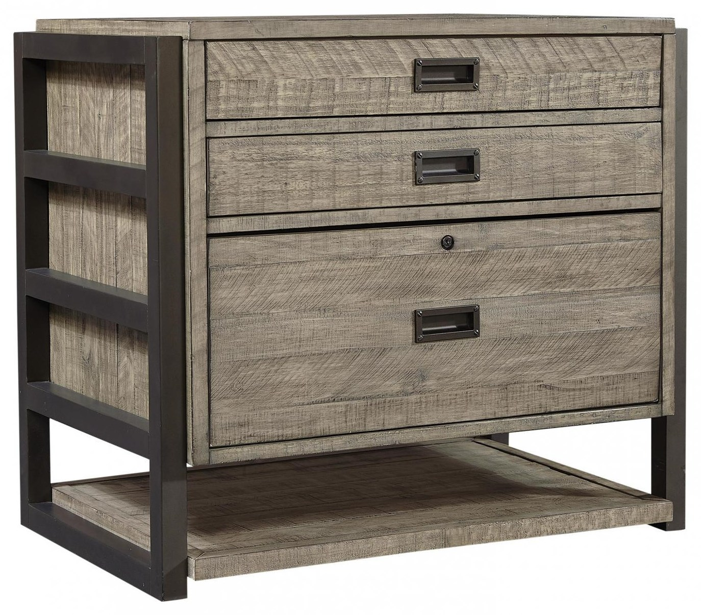 I215 Grayson Rustic File Cabinet by Aspenhome at Furniture Fair - North Carolina